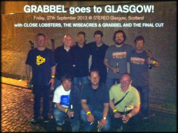 grabbel goes glasgow