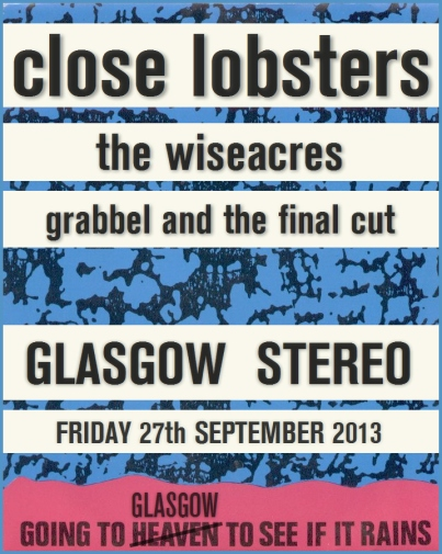 lobsters glasgow to see if it rains